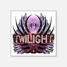 "Twilight Native Indigo Square Sticker 3"" x 3"""
