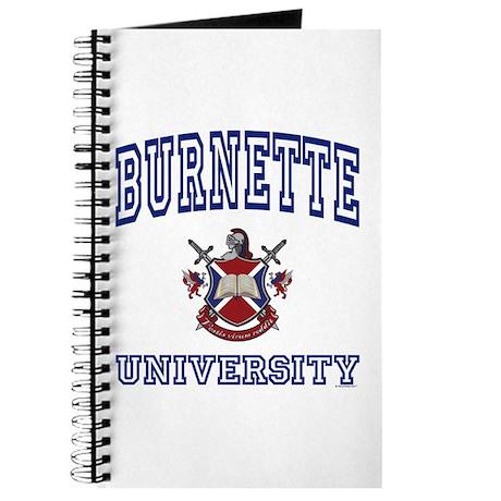 BURNETTE University Journal