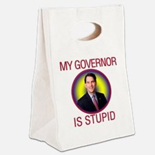 stupid-gov Canvas Lunch Tote