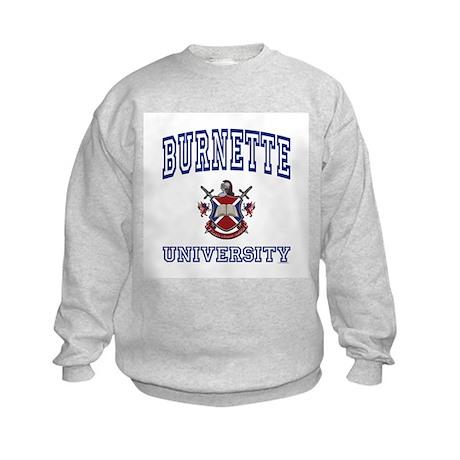 BURNETTE University Kids Sweatshirt
