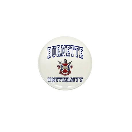 BURNETTE University Mini Button (100 pack)