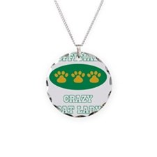 official crazy cat lady Necklace