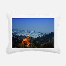 bran castle  Rectangular Canvas Pillow