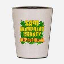 save_humboldt_SHIRT_DK_cp Shot Glass