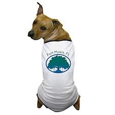 Fort-Myers-Banyan02 Dog T-Shirt