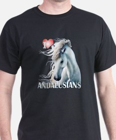 I Love Andalusians T-Shirt