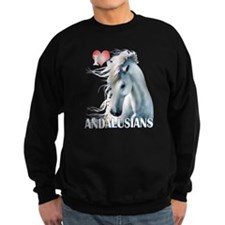 I Love Andalusians Sweatshirt