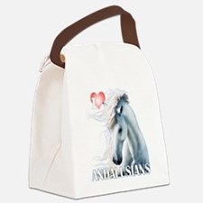 I Love Andalusians Canvas Lunch Bag