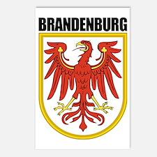 Brandenburg (blk) Postcards (Package of 8)