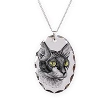 Cornish Rex for darks Necklace
