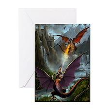 459_ipad_case-DragonsPlay-01 Greeting Card
