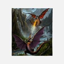 459_ipad_case-DragonsPlay-01 Throw Blanket