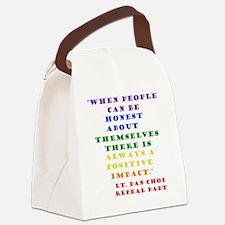Choi rainbow Canvas Lunch Bag