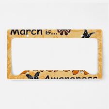 March Multiple Sclerosis Awar License Plate Holder