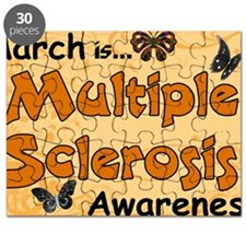 March Multiple Sclerosis Awareness Puzzle