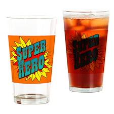 superhero2 Drinking Glass
