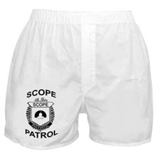 2-Scope Patrol copy Boxer Shorts