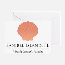 Sanibel-Shell Greeting Card
