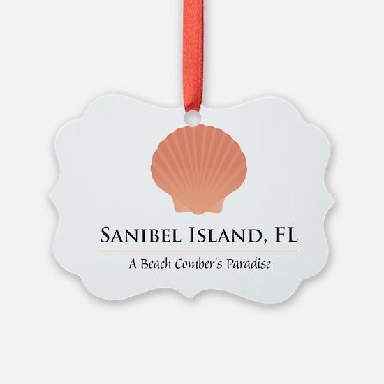 Sanibel-Shell Ornament