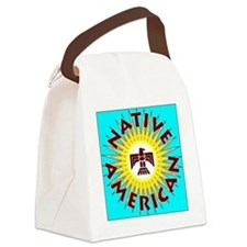 NativeAmerican2 Canvas Lunch Bag
