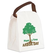 Plant a Tree Arbor Day Canvas Lunch Bag
