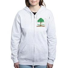 Plant a Tree Arbor Day Zip Hoodie
