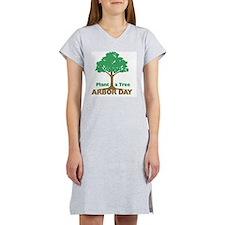 Plant a Tree Arbor Day Women's Nightshirt