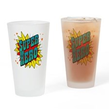 superhero Drinking Glass