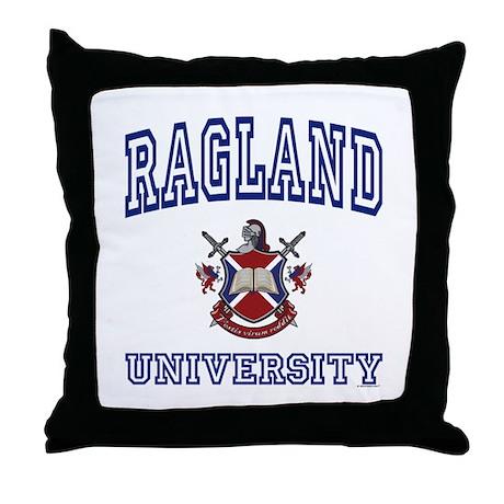 RAGLAND University Throw Pillow