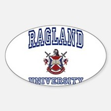 RAGLAND University Oval Decal
