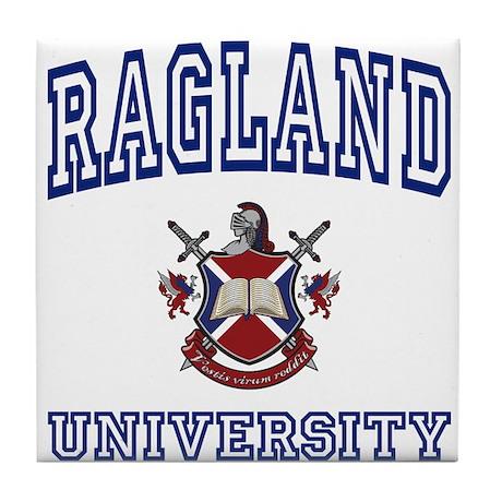 RAGLAND University Tile Coaster