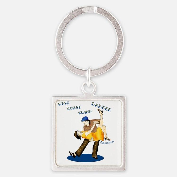 swing Square Keychain