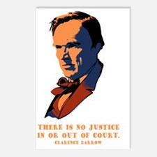 darrow-justice-DKT Postcards (Package of 8)