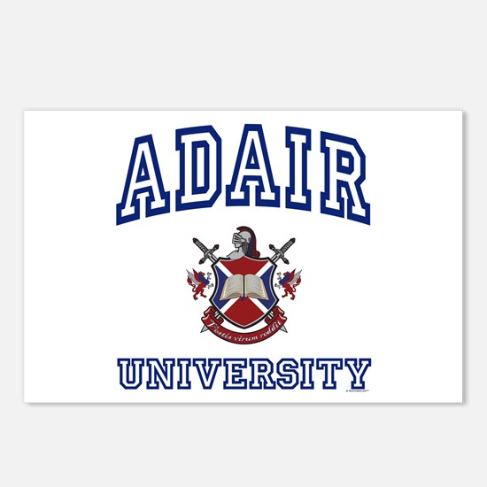 ADAIR University Postcards (Package of 8)