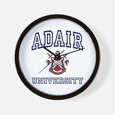 ADAIR University Wall Clock