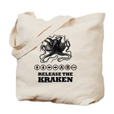 Kraken Release Cheat Code Tote Bag