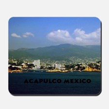 acapulco label12x18 Mousepad
