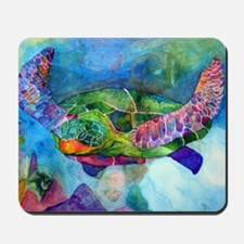 sea turtle full Mousepad