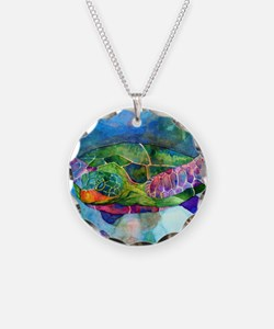 sea turtle full Necklace