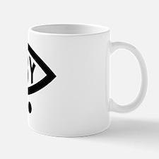 derby-fish-bumper-black Mug