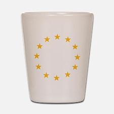 stars_wo_europe Shot Glass