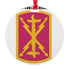17TH FIRES BRIGADE WITH TEXT Ornament