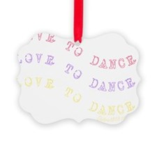 love_to_dance_1 Ornament