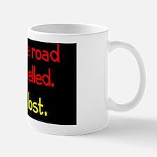 less-travelled_rect2 Mug