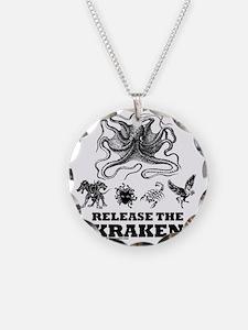 kraken and mythological beas Necklace