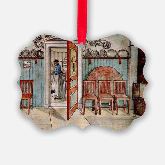 Carl Larsson painting: Old Anna Ornament