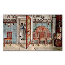 Carl Larsson painting: Old Ann Decal
