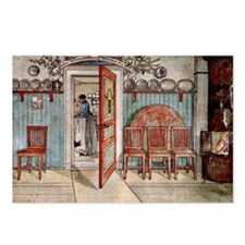 Carl Larsson painting: Ol Postcards (Package of 8)