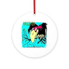 buzzard (2) Round Ornament