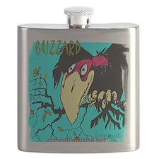 buzzard (2) Flask